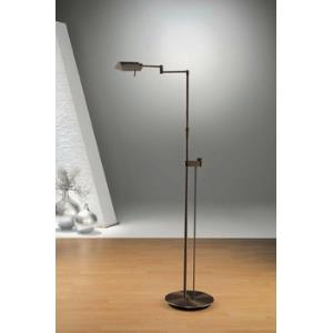 One Light Floor Lamp with Side Line Dimmer