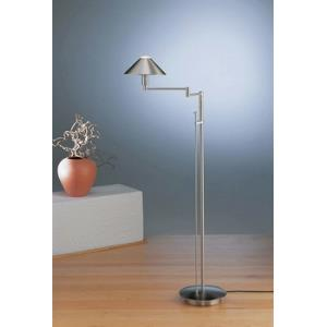 One Light Swing Arm Floor Lamp