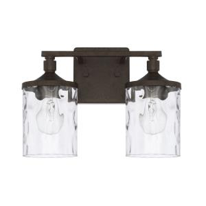 Collier - Two Light Bath Vanity
