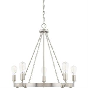 Tanner - Five Light Chandelier