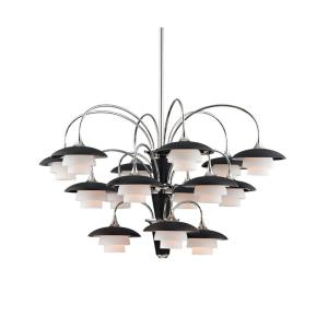 Barron - Fifteen Light 3-Tier Chandelier