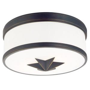 Seneca - Two Light Flush Mount