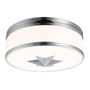 Seneca - 3 Light Flush Mount - 14.5 Inches Wide by 5.75 Inches High