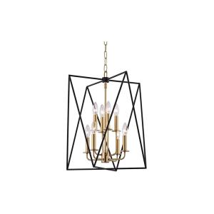 Laszlo 8-W Pendant - 18.25 Inches Wide by 22.5 Inches High