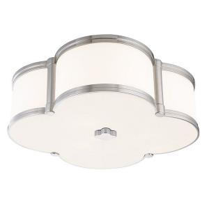 Slaton - Three Light Flush Mount - 16.75 Inches Wide by 5.5 Inches High