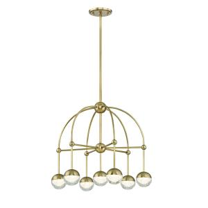 Boca 7-Light LED Chandelier - 23.5 Inches Wide by 20.5 Inches High
