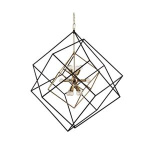 Roundout - Twelve Light Chandelier