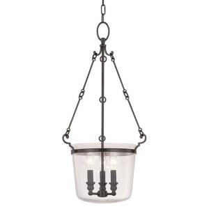 Quinton - Three Light Foyer - 14 Inches Wide by 28 Inches High