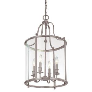 Mansfield - Four Light Pendant - 15 Inches Wide by 26 Inches High