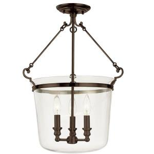 Edison Collection - Two Light Chandelier