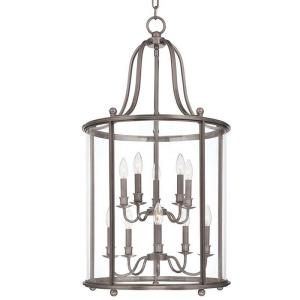 Mansfield - Ten Light Pendant - 20 Inches Wide by 37.25 Inches High