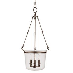Quinton - Three Light Foyer - 16.125 Inches Wide by 35.625 Inches High