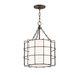 Sovereign 2-Light LED Pendant - 16 Inches Wide by 21.75 Inches High