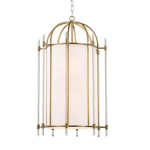 Delancey Eight Light Pendant - 19 Inches Wide by 32.25 Inches High