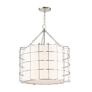Sovereign 3-Light LED Pendant - 24 Inches Wide by 28 Inches High