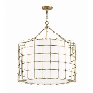 Sovereign 4-Light LED Pendant - 31 Inches Wide by 32 Inches High