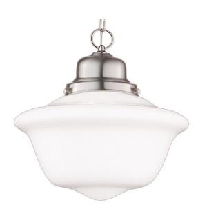 Edison - One Light Pendant - 12 Inches Wide by 11.5 Inches High