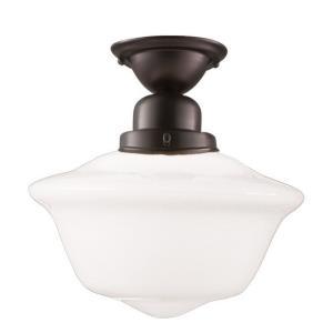 Edison Collection - One Light Flush Mount