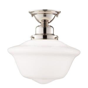 Edison Collection - One Light Flush Mount
