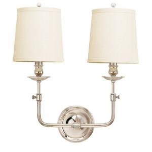 Logan - Two Light Wall Sconce - 16 Inches Wide by 15.875 Inches High