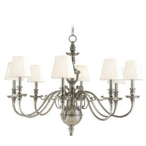Charleston - Eight Light Chandelier - 36.25 Inches Wide by 29 Inches High