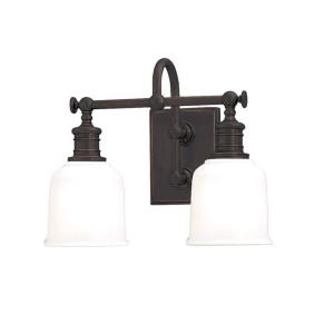 Keswick - Two Light Wall Sconce - 13.5 Inches Wide by 11 Inches High