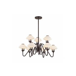 Knowles 9-Light LED Chandelier - 29.75 Inches Wide by 16.5 Inches High