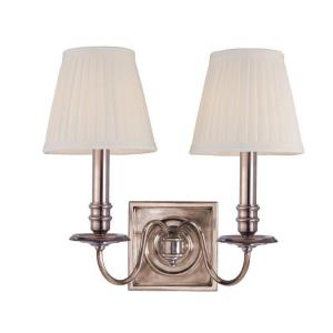 Sheldrake - 2 Light Wall Sconce - 13 Inches Wide by 12 Inches High