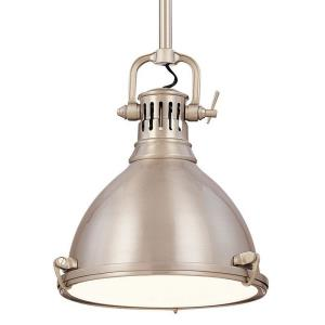 Pelham - One Light Pendant - 10.5 Inches Wide by 20 Inches High