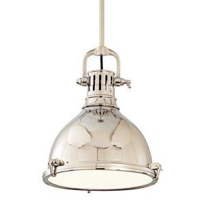 Pelham - One Light Pendant - 14 Inches Wide by 25 Inches High