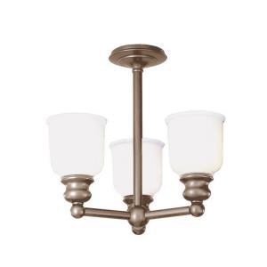 Riverton Collection - Three Light Semi Flush Mount
