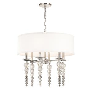 Persis 6-Light Pendant - 24 Inches Wide by 24.5 Inches High