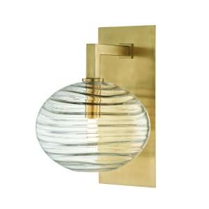 Breton 1-Light LED Wall Sconce - 8.5 Inches Wide by 12.75 Inches High