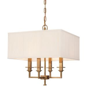Berwick - Four Light Pendant - 18 Inches Wide by 19.25 Inches High