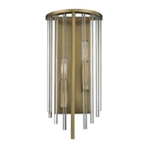 Lewis - Two Light Wall Sconce - 7 Inches Wide by 15 Inches High