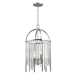 Lewis - Four Light Pendant - 13 Inches Wide by 23.5 Inches High