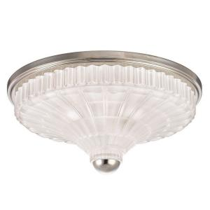Urbana - Three Light Flush Mount - 17 Inches Wide by 7 Inches High