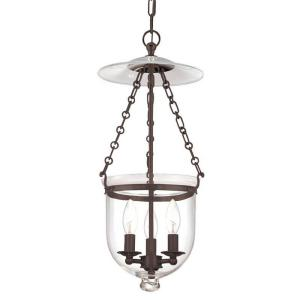 Hampton Collection - Three Light Ceiling Fixture