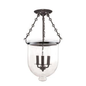 Hampton Collection - Three Light Flush Mount