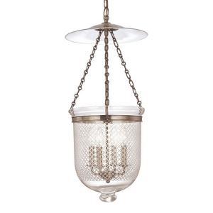 Hampton Collection - Four Light Pendant with Argyle Pattern Glass