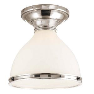 Randolph - One Light Flush Mount - 10 Inches Wide by 9.25 Inches High