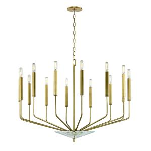 Gideon 14-Light Chandelier - 33.25 Inches Wide by 24.75 Inches High