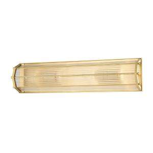 Wembley - Four Light Wall Sconce in Contemporary Style - 6.5 Inches Wide by 24 Inches High