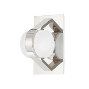 Orbit - 8 Inch 10W 1 LED Wall Sconce in Contemporary/Modern Style - 4.75 Inches Wide by 8 Inches High