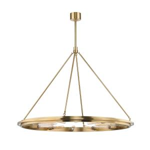 Chambers 12-Light Pendant - 45 Inches Wide by 34 Inches High