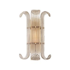 Brasher - One Light Wall Sconce - 11 Inches Wide by 15.75 Inches High