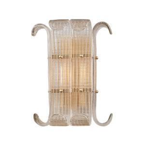 Brasher - Two Light Wall Sconce - 13 Inches Wide by 15.75 Inches High