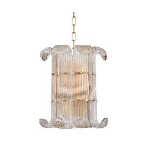 Brasher - Four Light Chandelier - 14.5 Inches Wide by 15.75 Inches High