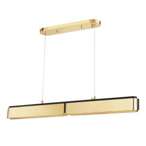 Tribeca - Two Light Linear in Modern Style - 48.5 Inches Wide by 5 Inches High