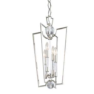Waterloo - Four Light Pendant - 13 Inches Wide by 25.75 Inches High